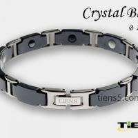 Титановый магнитный браслет для мужчин (Black) Тяньши