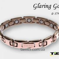 Титановый магнитный браслет для женщин (Gold) Тяньши